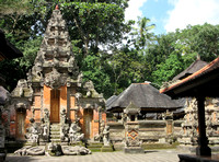 Sacred Monkey Forest (sanctuary and Hindu temple)