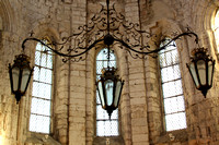 Inside the church at Igreja do Carmo