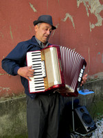 Accordion player (yes, we paid him)