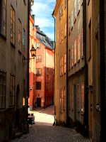 Early morning (and I mean early) in Gamla Stan--shot with an iPhone