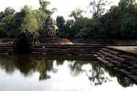 Preah Neak Pean - small temple surrounded by a moat (you can only look across the moat)