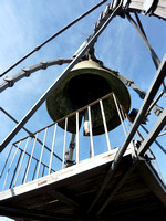 Bell at the top of the Torre del Mangia (you really have to climb to see this!)