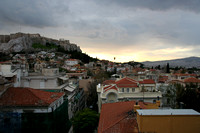 View of the Acropolis from the roof of the Electra Palace Hotel