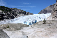 Base of the glacier