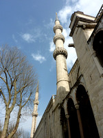 Blue Mosque exterior (from our wait in line)