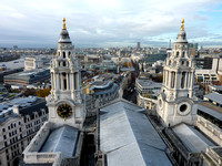 View from atop St. Paul's Cathedral