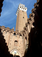 View from inside Palazzo Pubblico