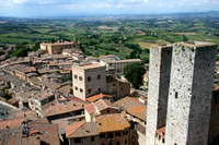 San Gimignano: View from Torre Grossa