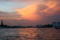 Sunset on the Chao Praya