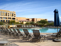JW Marriott Starr Pass (nice pool; too cold to swim)
