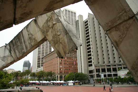 Vaillancourt Fountain, Justin Herman Plaza (always makes me think of Rattle & Hum)