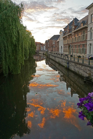 Ghent, in the evening