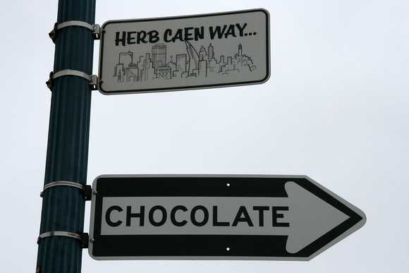 This way to the chocolate