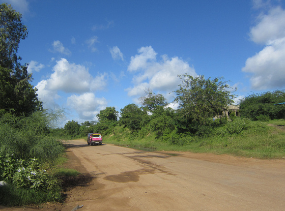 Road to Nikumbuke, the women's health project