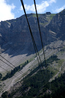 Are we really taking a gondola on those cables?