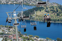 Gondolas up to Bob's Peak