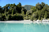 Starting our trip up the Waiatoto River