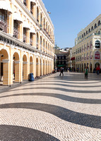 Senado Square in the daytime