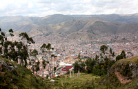 View of Cusco from Qenqo
