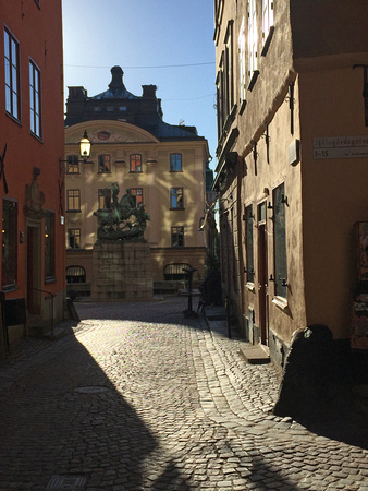 Early morning light, Gamla Stan