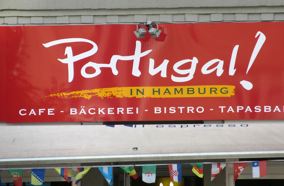 Large concentration of Portuguese restaurants (of which this is one)